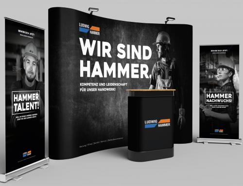 Ludwig Hammer auf der Ausbildungsmesse meineZukunft!